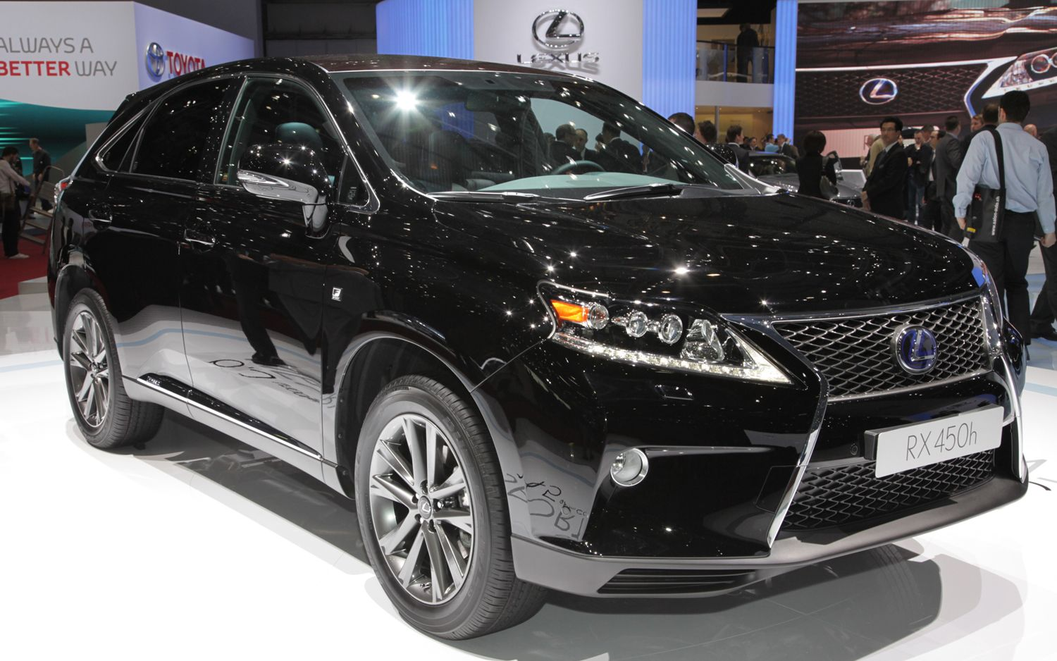 2013 Lexus RX 350 And RX 450h First Look