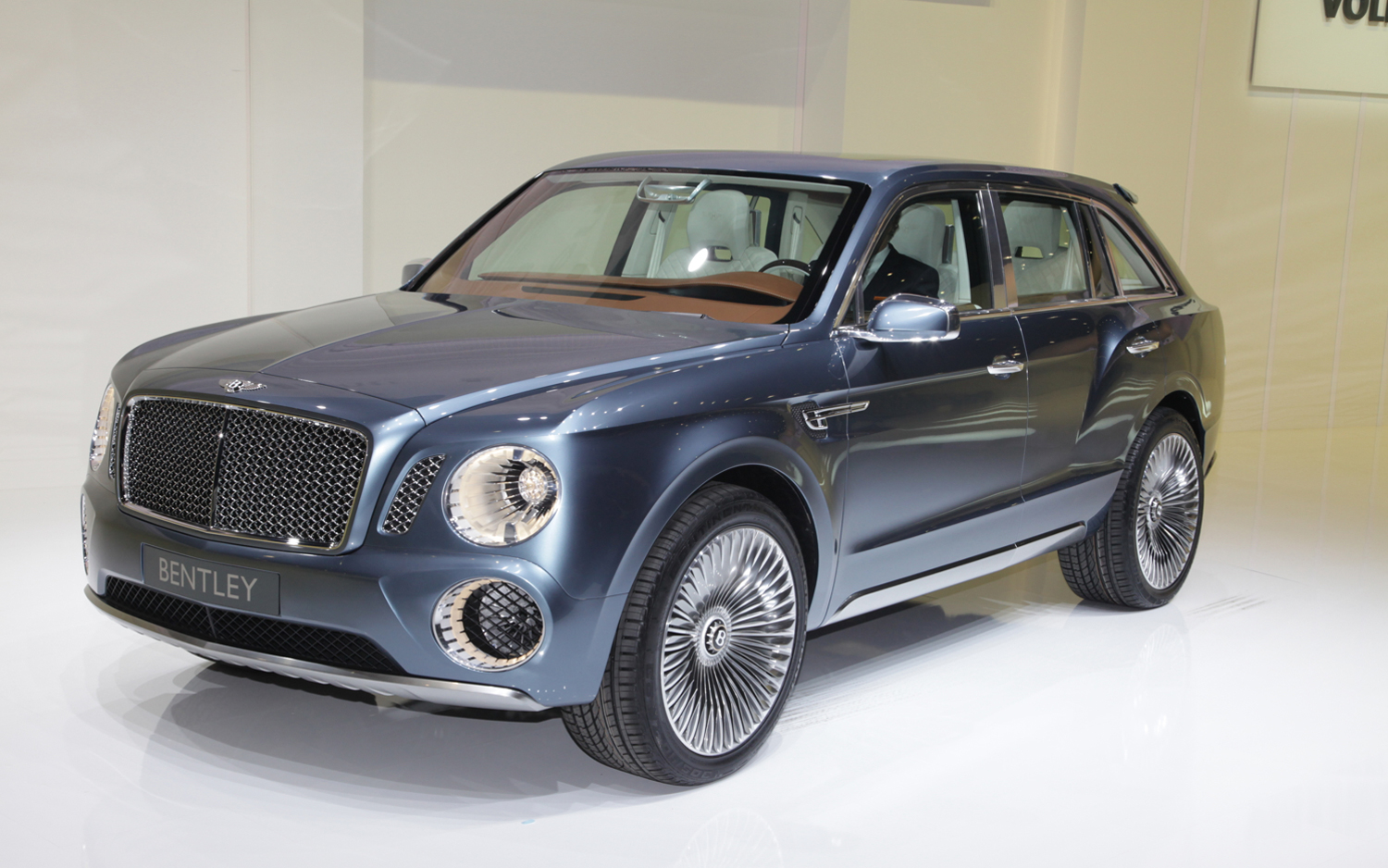 Bentley EXP 9 F Concept - Motor Trend