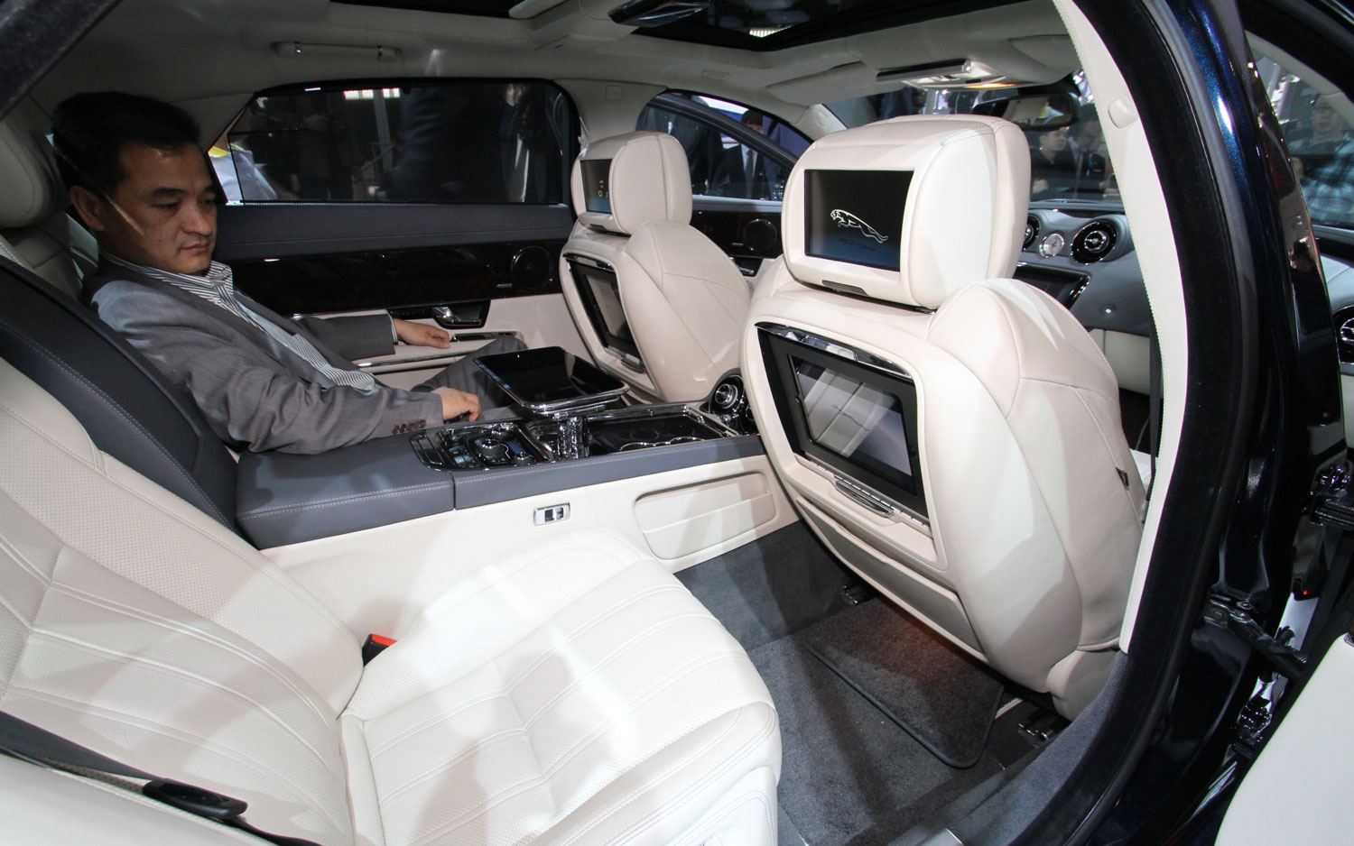 Great 2012 Beijing: 2013 Jaguar XJ Ultimate Offers Rear Seat Opulence, Opulent  Price