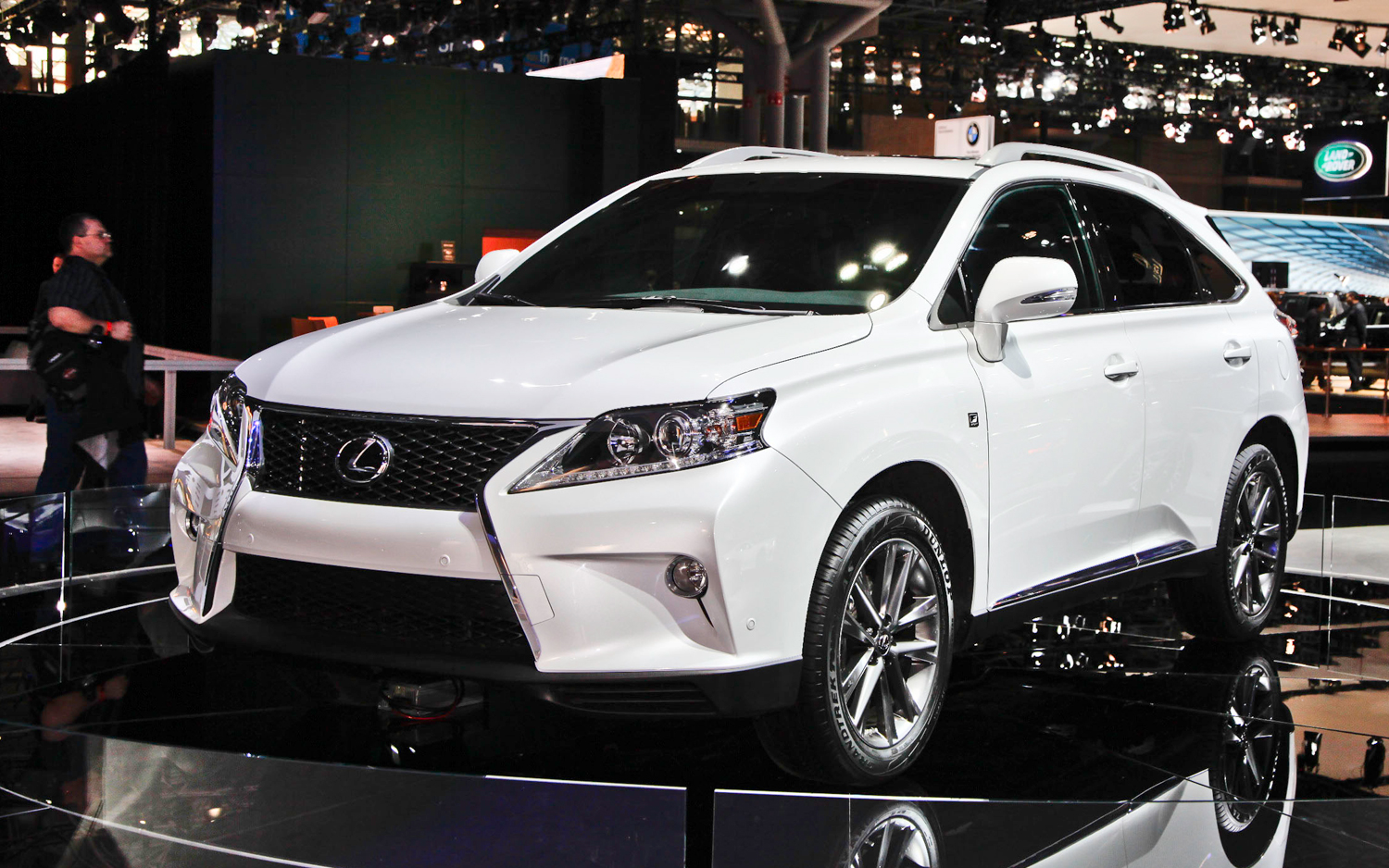 2012 New York: Lexus Builds 2013 RX 350 F Sport With Eight Speed Automatic