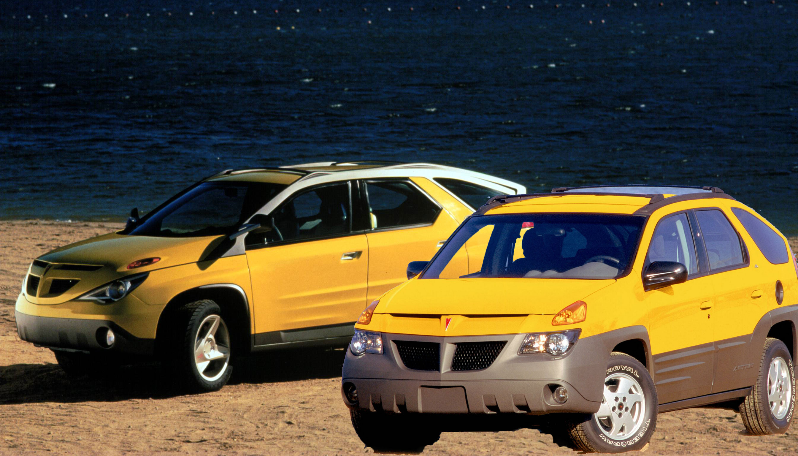 Thread Of The Day What If The Pontiac Aztek Concept Had Gone To