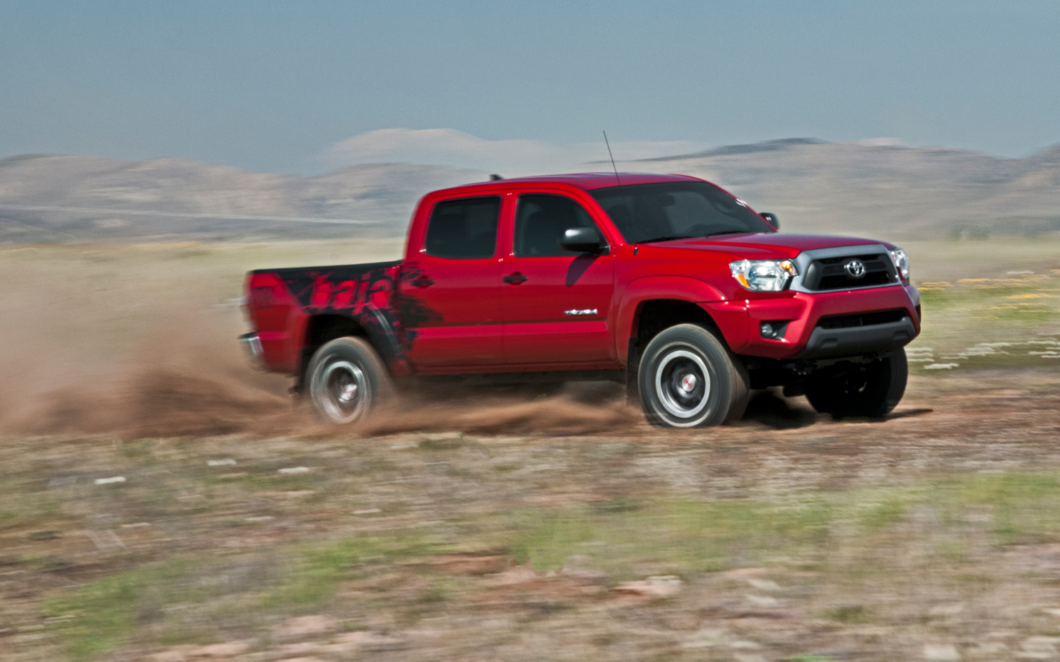 2012 Toyota Tacoma Trd Tx Baja Series First Test Motor Trend