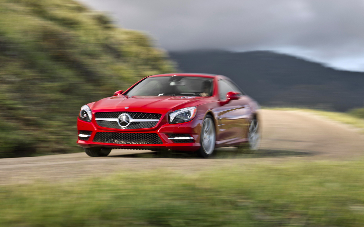 2013 Mercedes Benz SL550 First Test