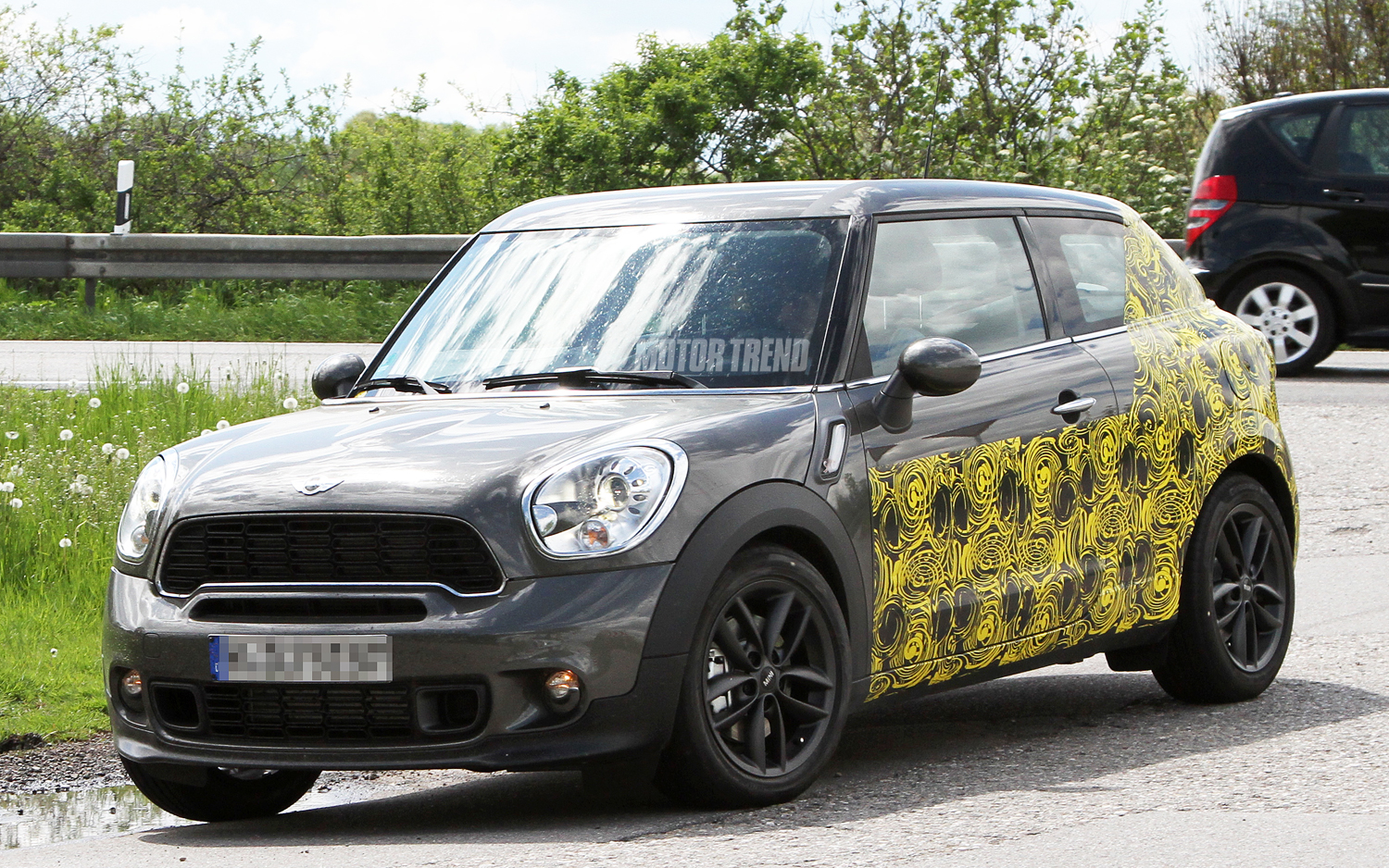 Spied Mini Countryman Coupe Caught Testing On The Streets Motortrend