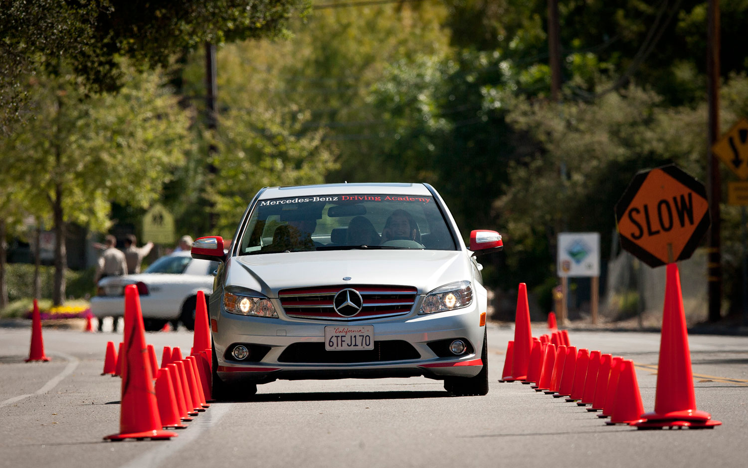 Higher Education: Mercedes Benz Driving Academy