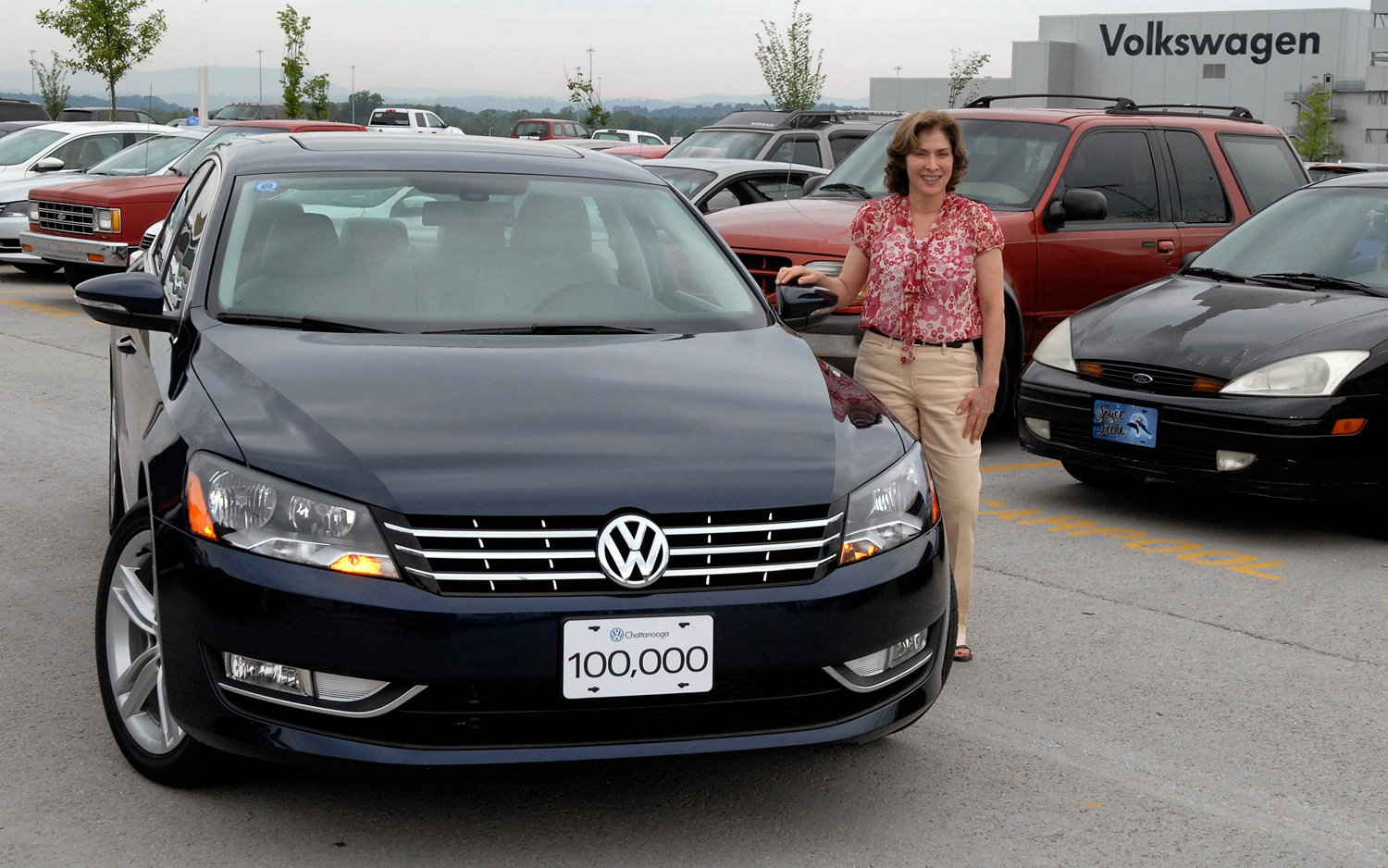 Vw Of America >> Made In America 100 000th Volkswagen Passat Built In