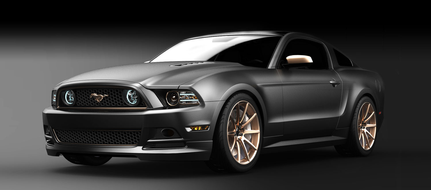 Ford Mustang Gt High Gear Sema Car Designed By Woman Built By Women