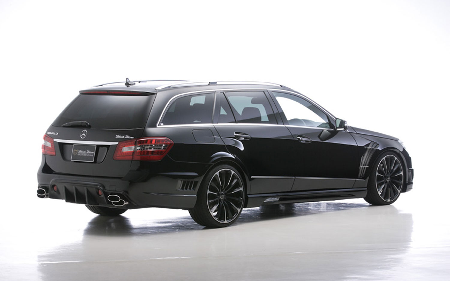 Black Bison: Mercedes Benz E Class Wagon Modified By Wald