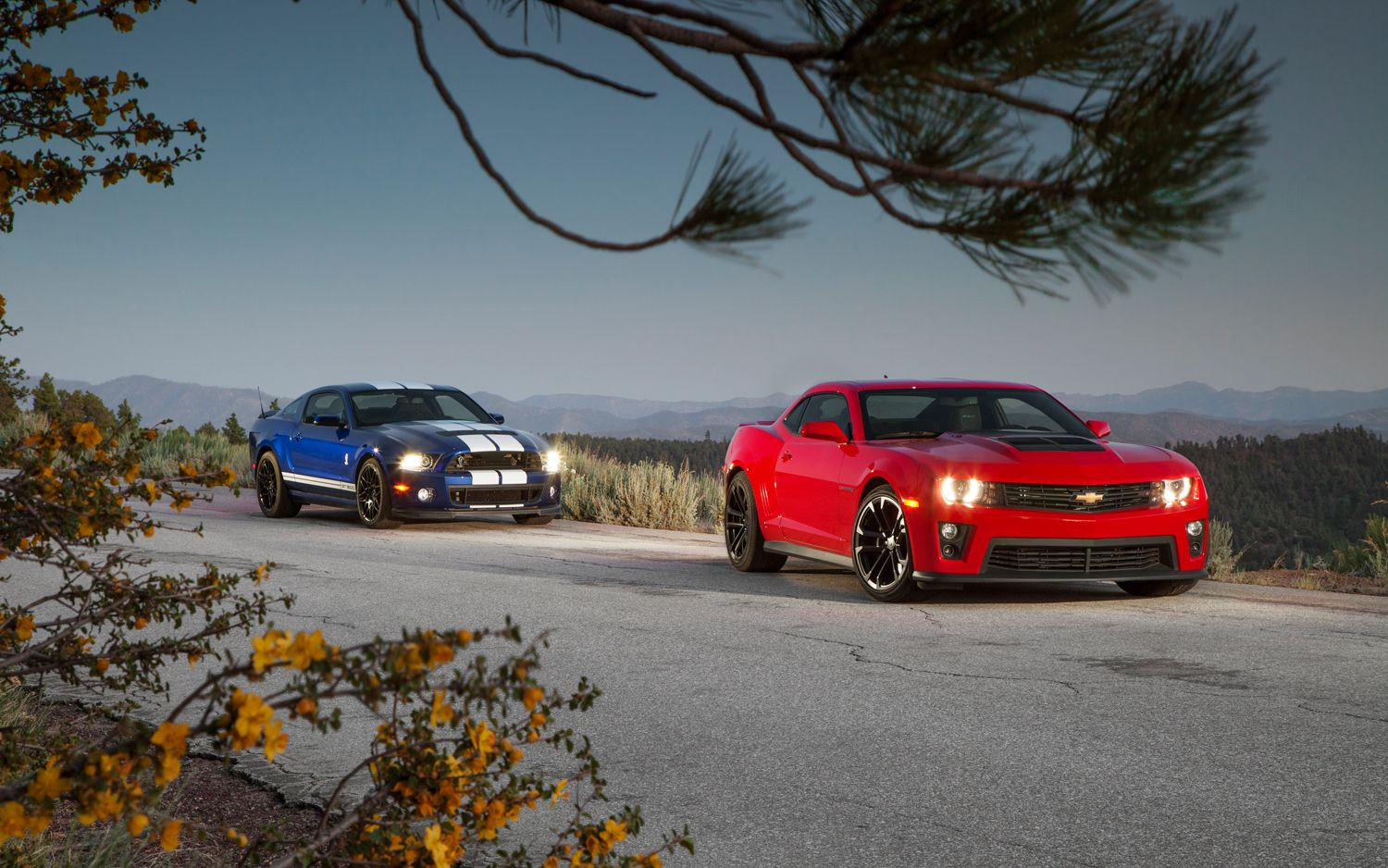 Top 13 American Muscle Cars For Independence Day Motortrend