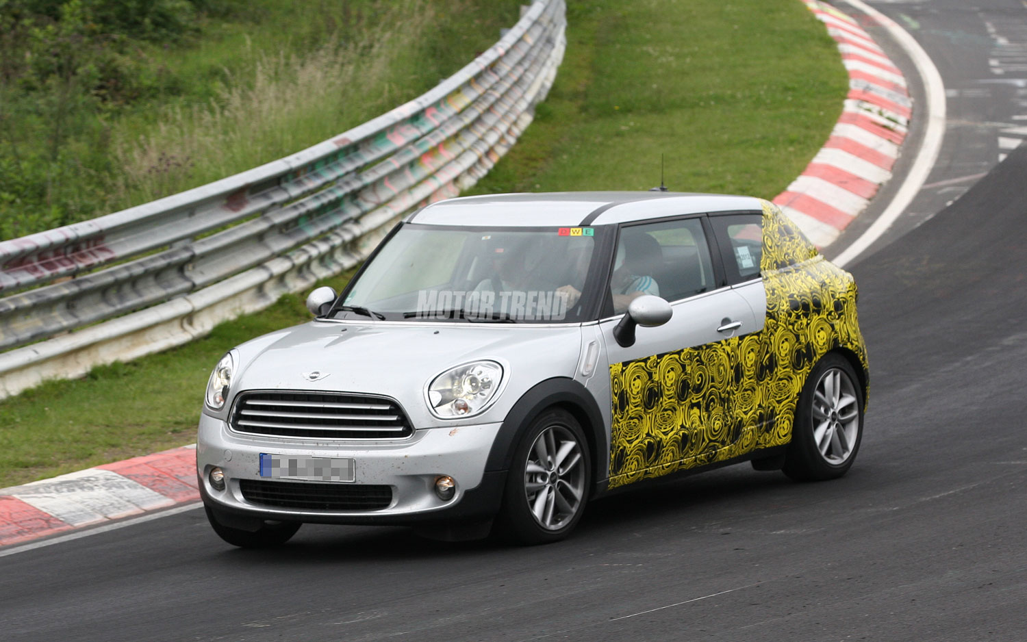 Official Mini Countryman Coupe Named The Mini Paceman Motortrend