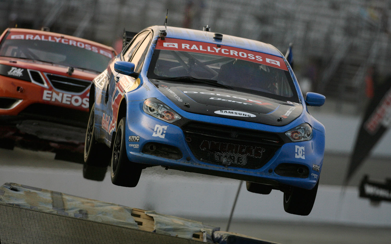 Pastrana Pilots Dodge Dart to Victory in Fourth Round of Global ...