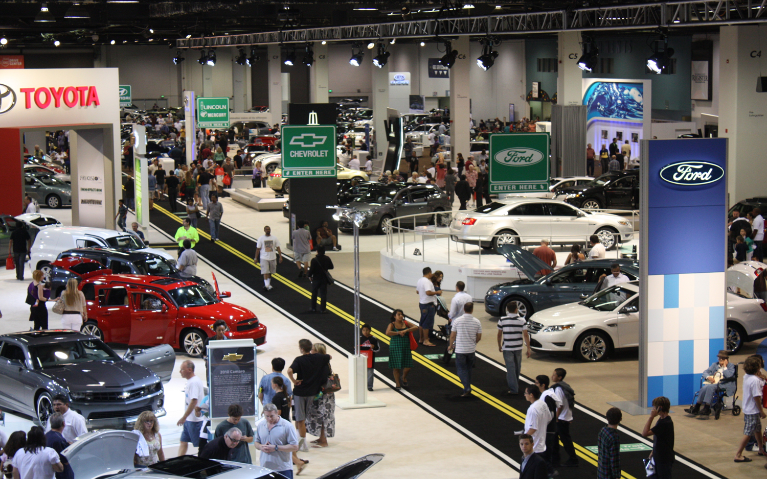Motor Trend Auto Show Schedule Motor Trend - Car show in vegas today