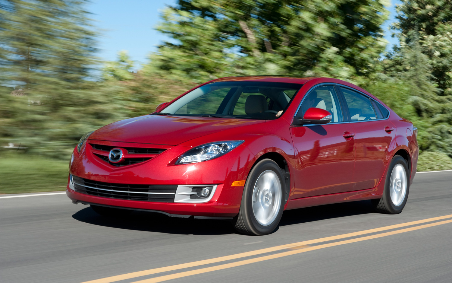Where is the mazda 6 built