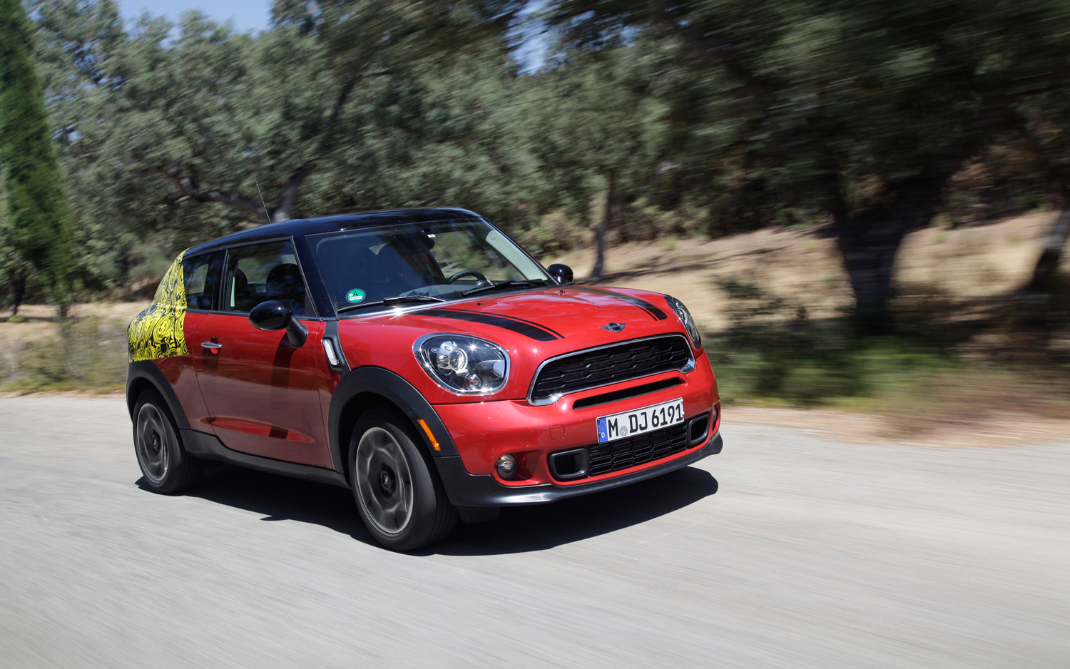 2014 mini cooper s paceman all4 prototype first drive - motortrend