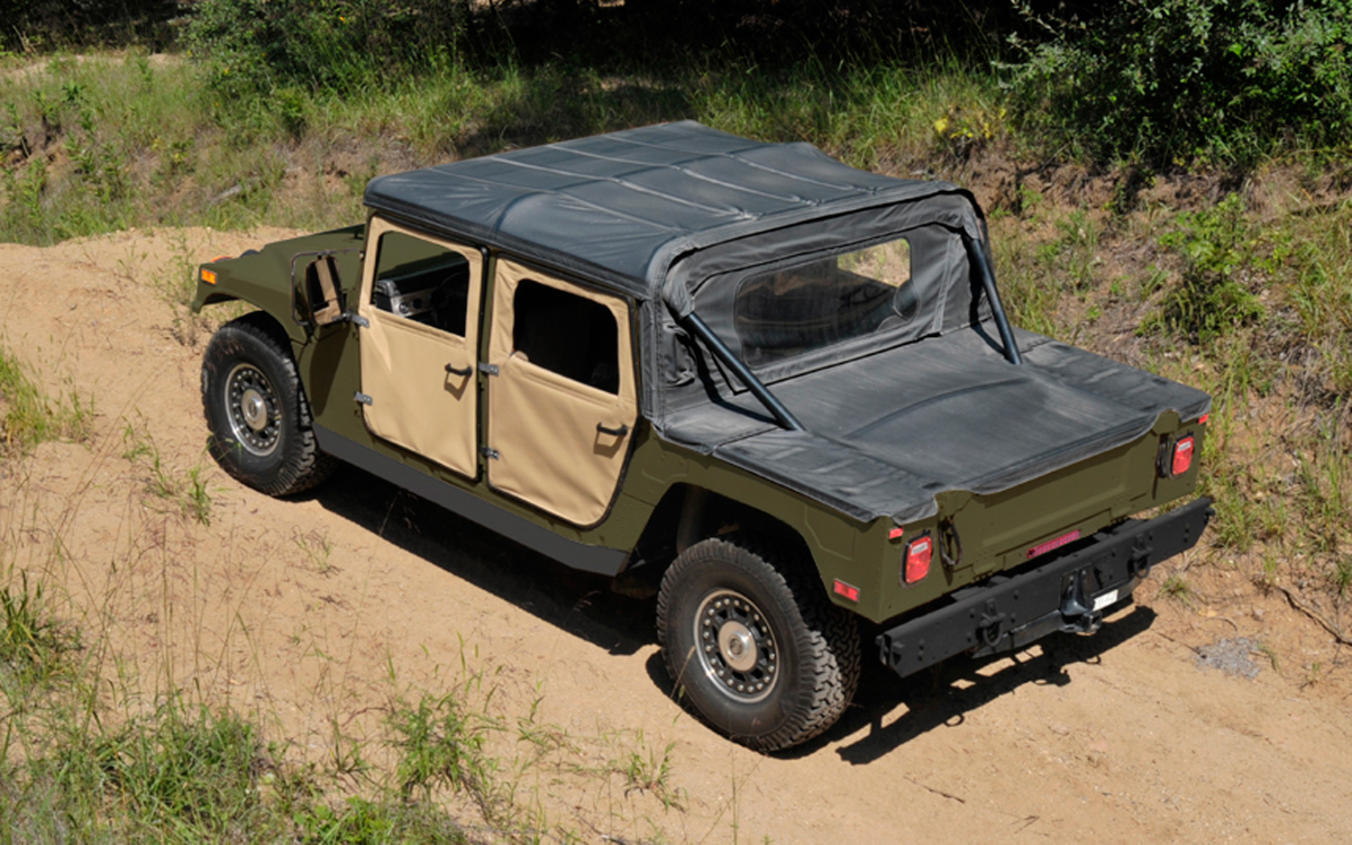 2013 AM General Humvee C Series rear view?impolicy=entryimage diy h1 am general announces new $59,995 civilian humvee c series