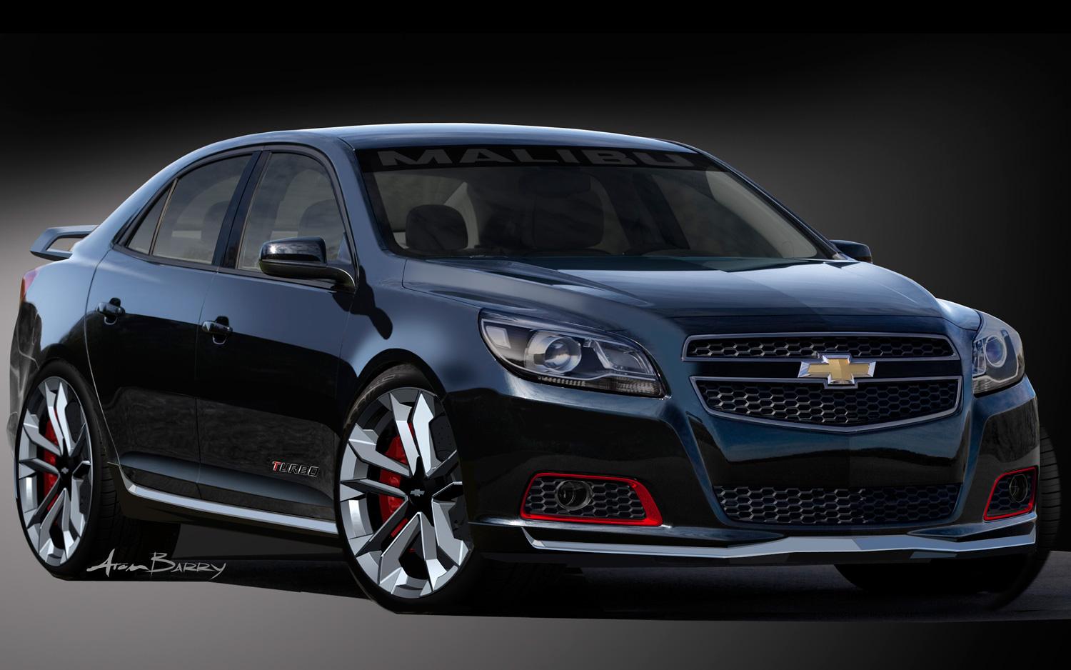 SEMA Sedans: 2013 Chevrolet Malibu Turbo and 2014 Chevrolet Impala Ready  for SEMA