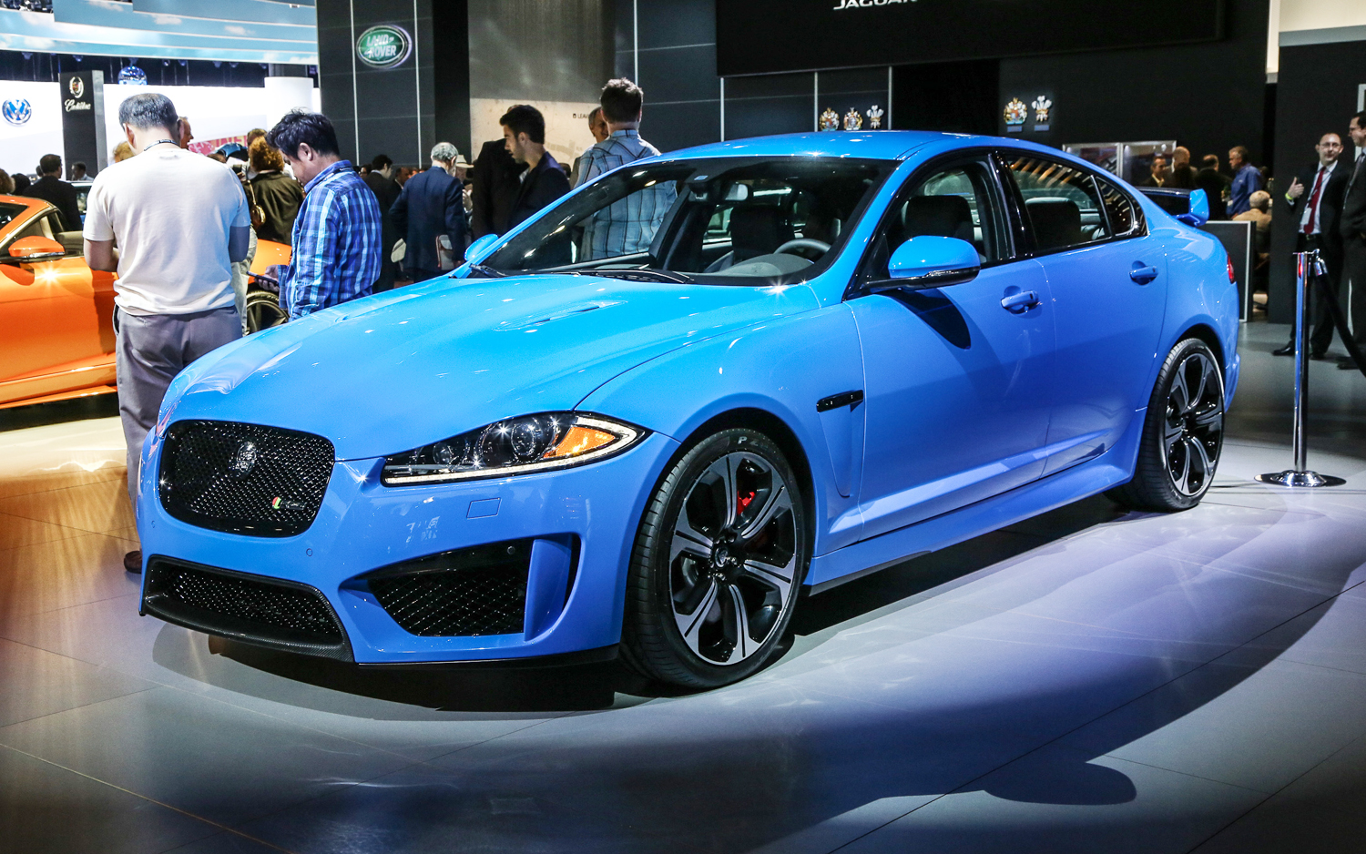 2014 Jaguar XFR S Is Fastest Jaguar Sedan Ever   2012 L.A.
