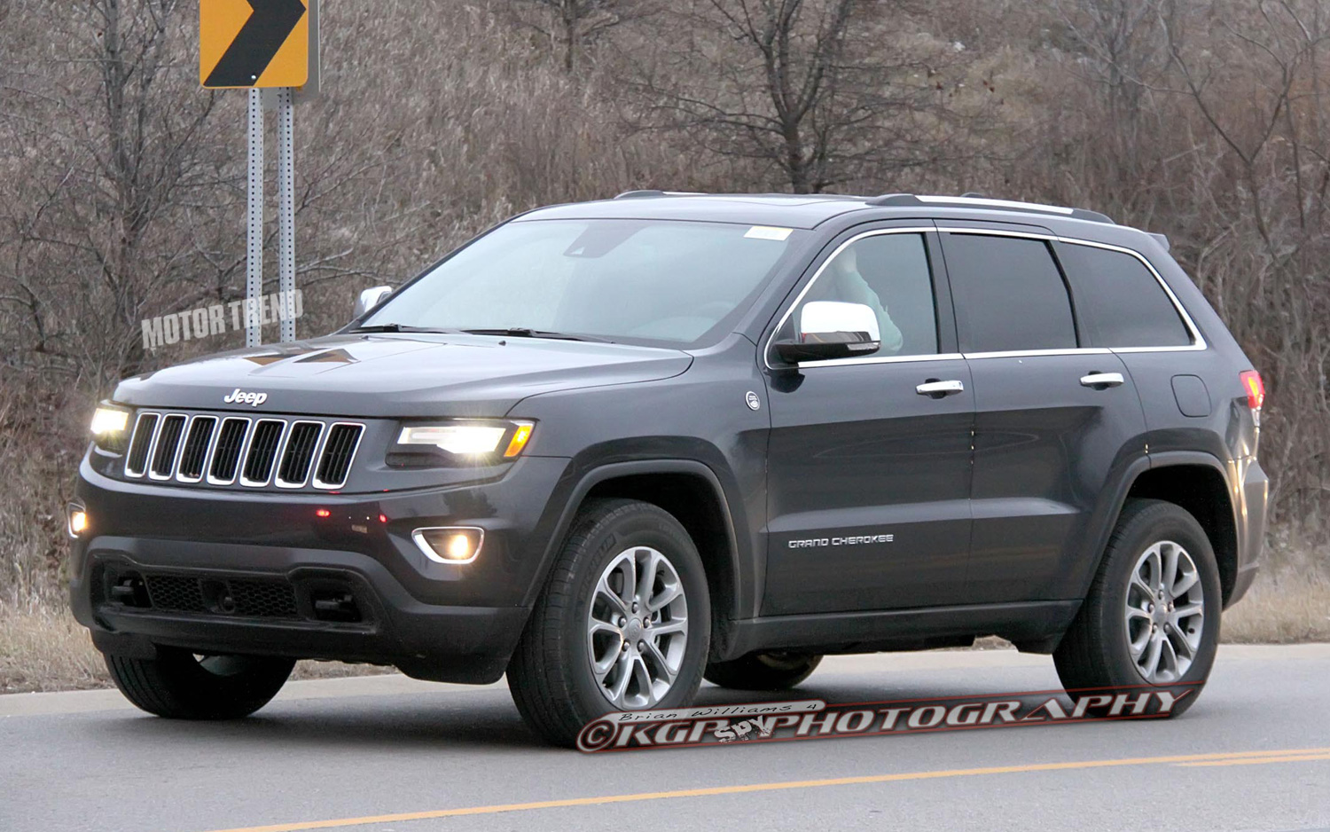 Caught: Refreshed 2014 Jeep Grand Cherokee Completely Revealed