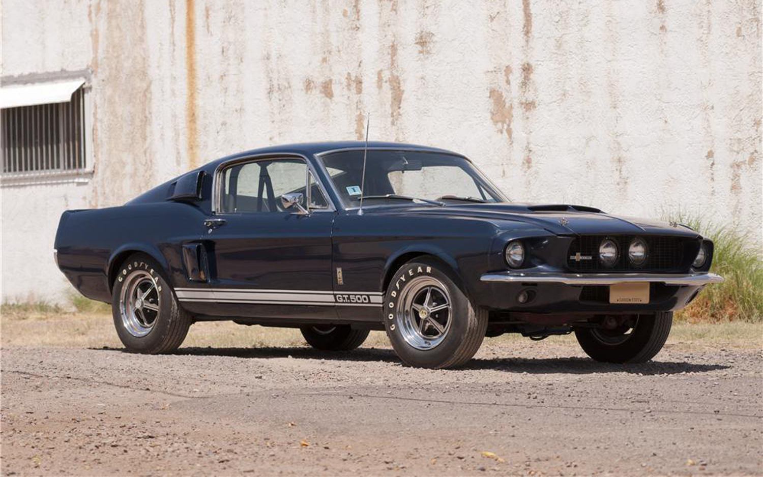 Rare Unrestored 1967 Shelby GT500 With 9841 Miles Headed To Auction Block