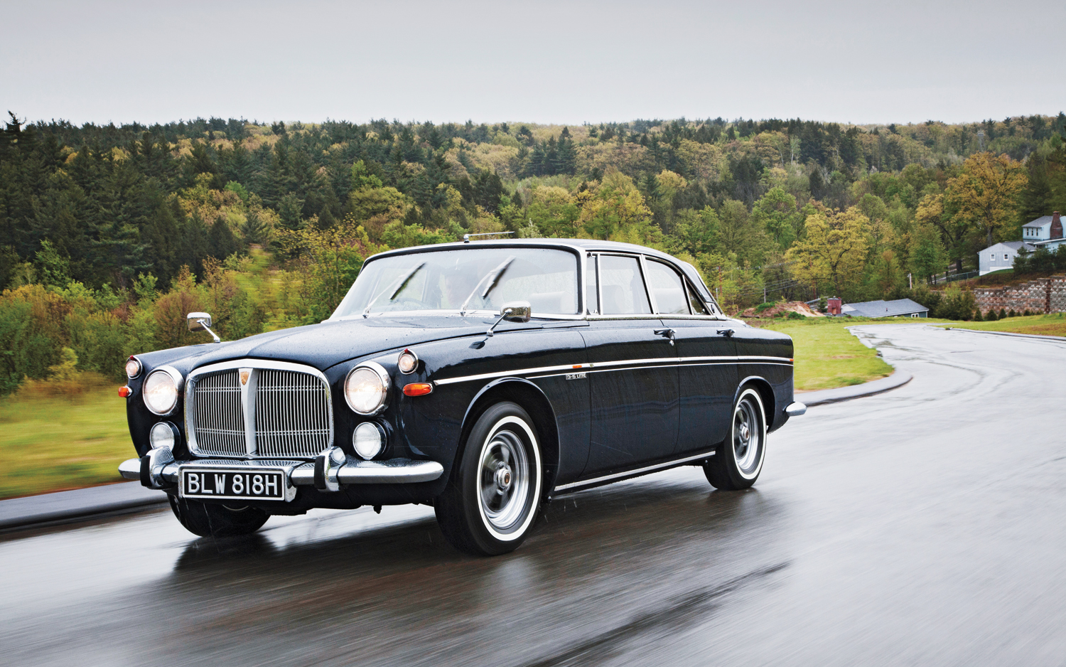 1970 Rover 3.5 Litre Coupe Classic Drive - Motor Trend