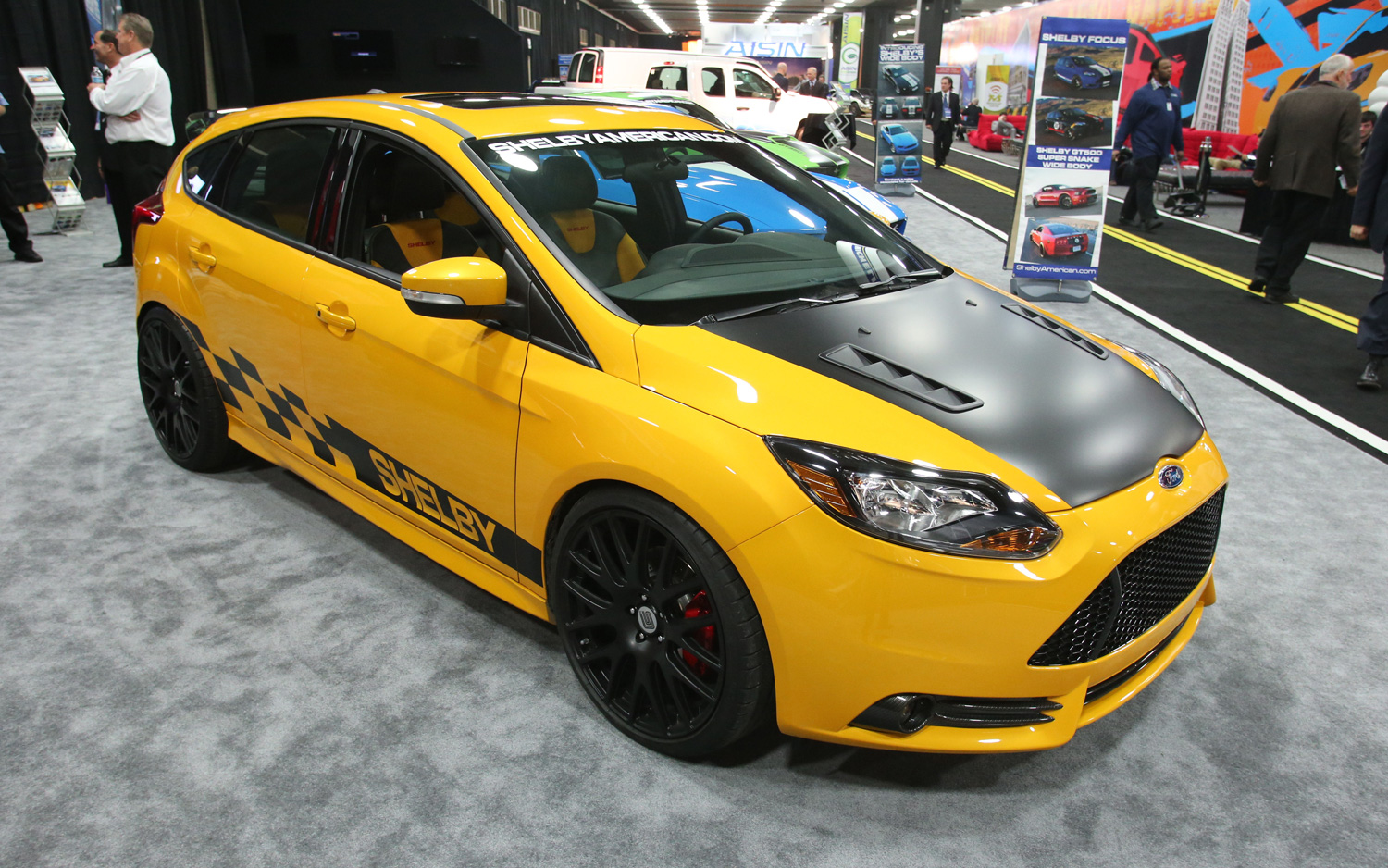 Goes Like Hell: 2013 Ford Shelby Focus ST Debuts in Detroit - Motor ...