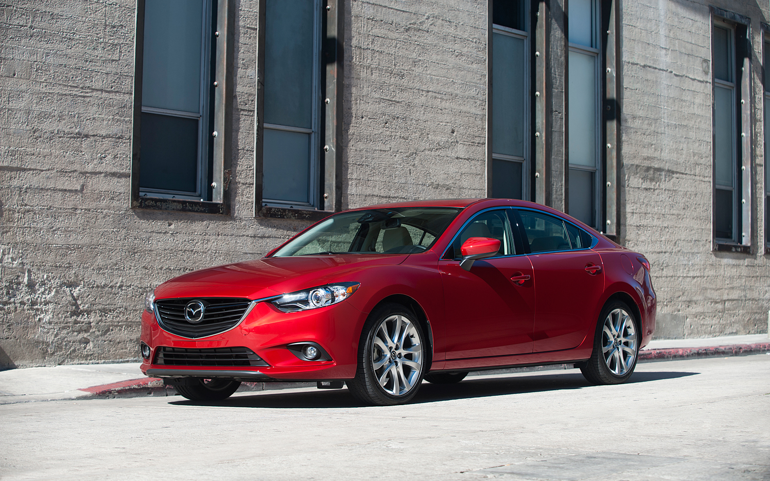 2014 Mazda6 EPA Rated 26/38 MPG With Automatic, 25/37 MPG With Manual