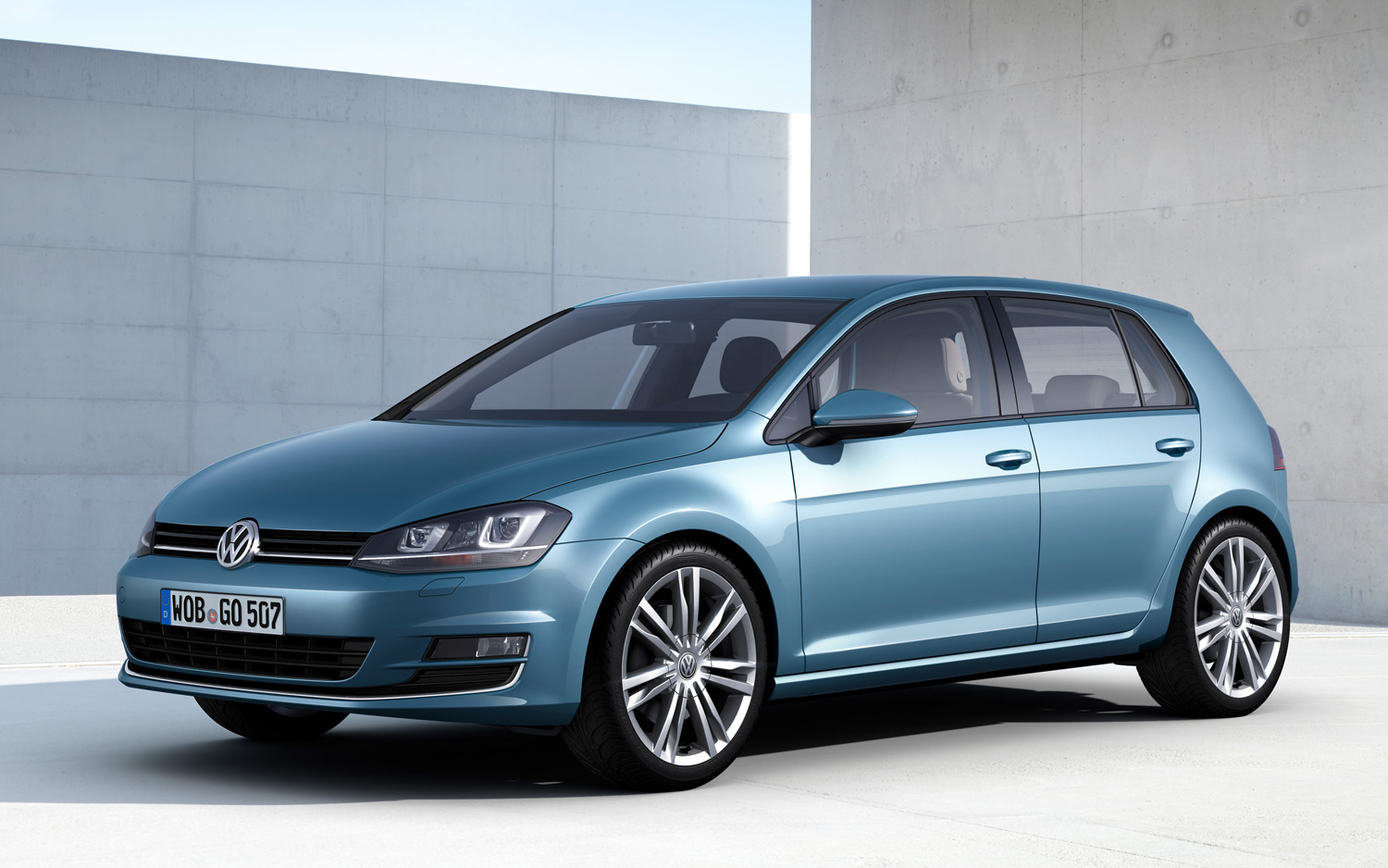 Confirmed: Next-Gen Volkswagen Golf Production Starts in Mexico in 2014