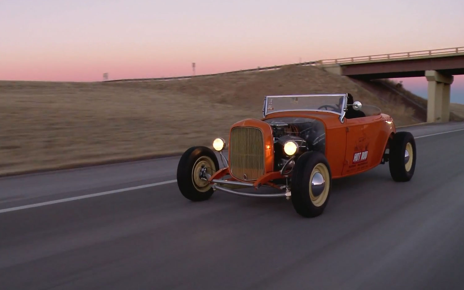 Hot Rod Unlimited Episode 26 – Fun and Stupid \'32 Ford Roadster Road ...
