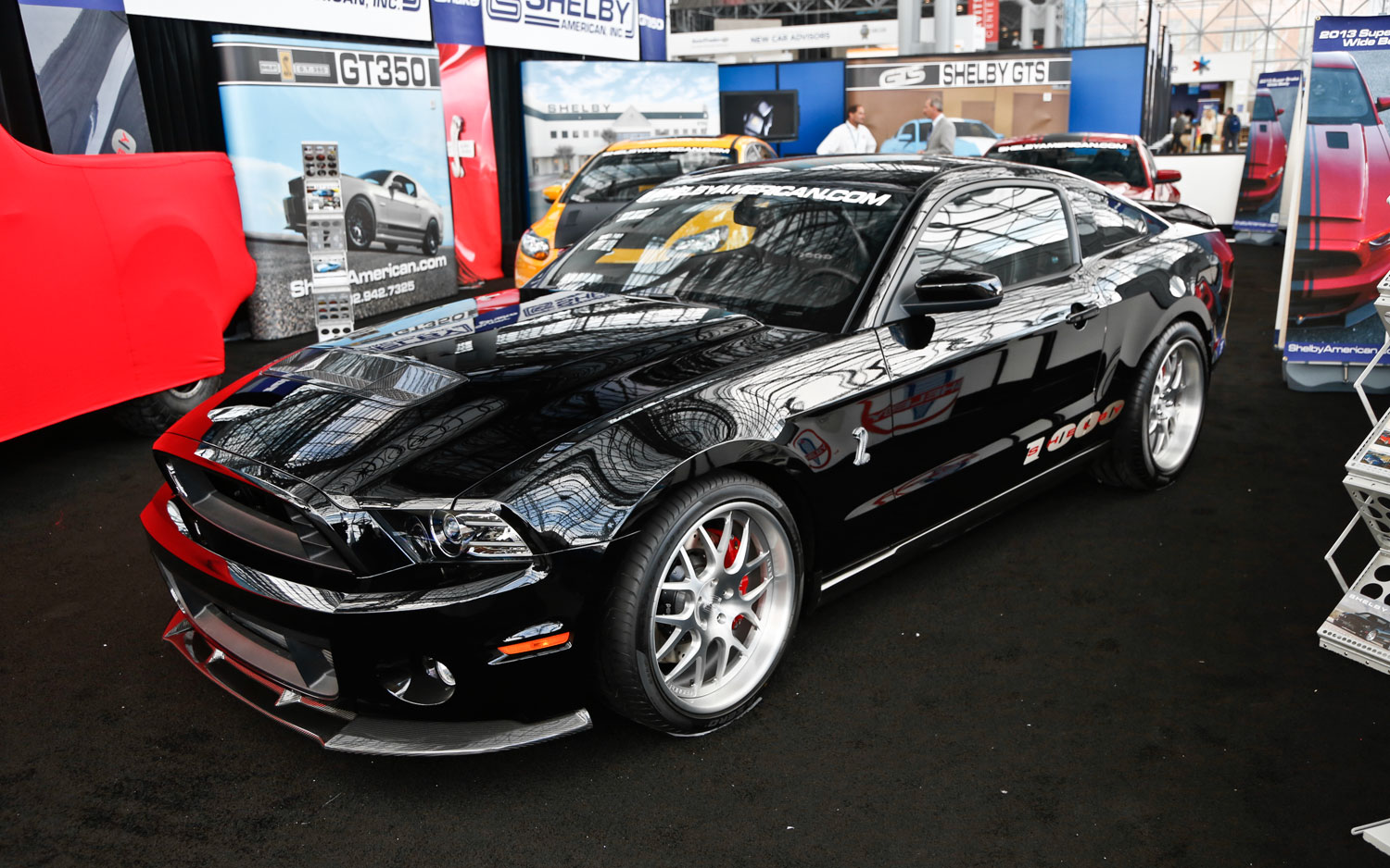 Shelby Gt500 Based Shelby 1000 S C Has 1200 Hp Motor Trend