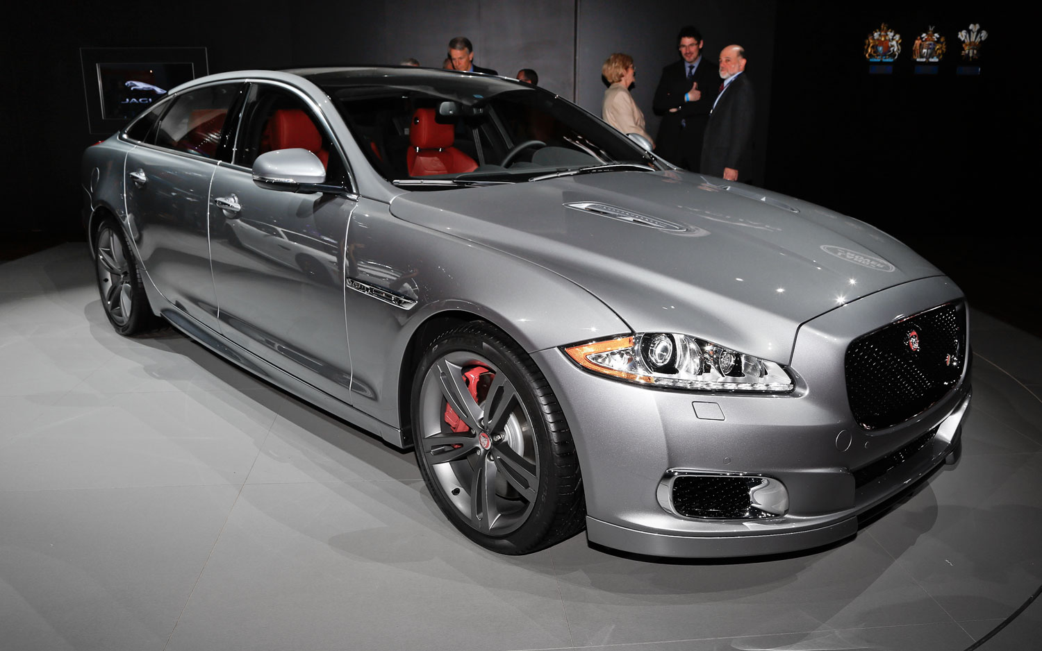 550 HP 2014 Jaguar XJR Makes Debut In New York