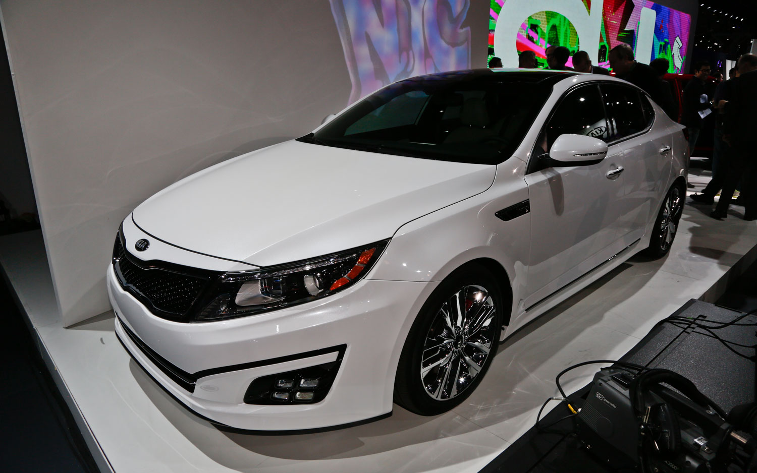 Updated 2014 Kia Optima Features More Tech   2013 New York