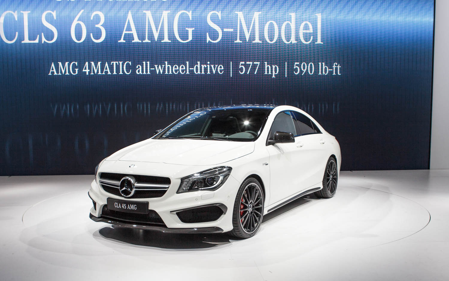 2014 Mercedes-Benz CLA45 AMG First Look