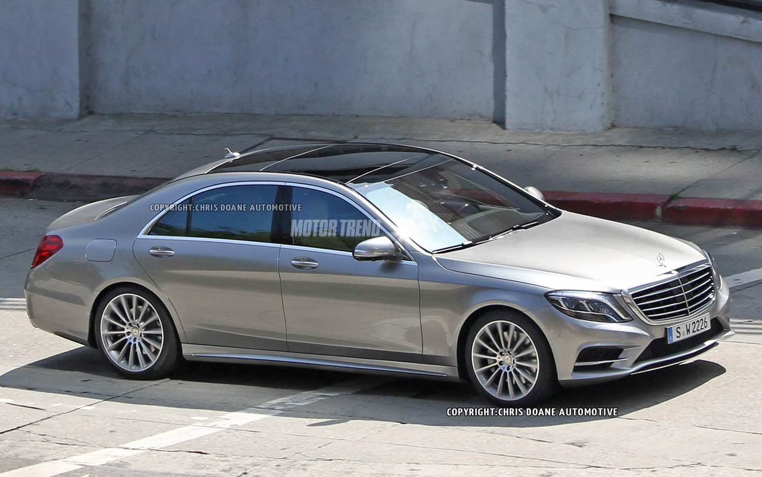 S Class Sedan >> Spied 2014 Mercedes Benz S Class Sedan Completely Uncovered