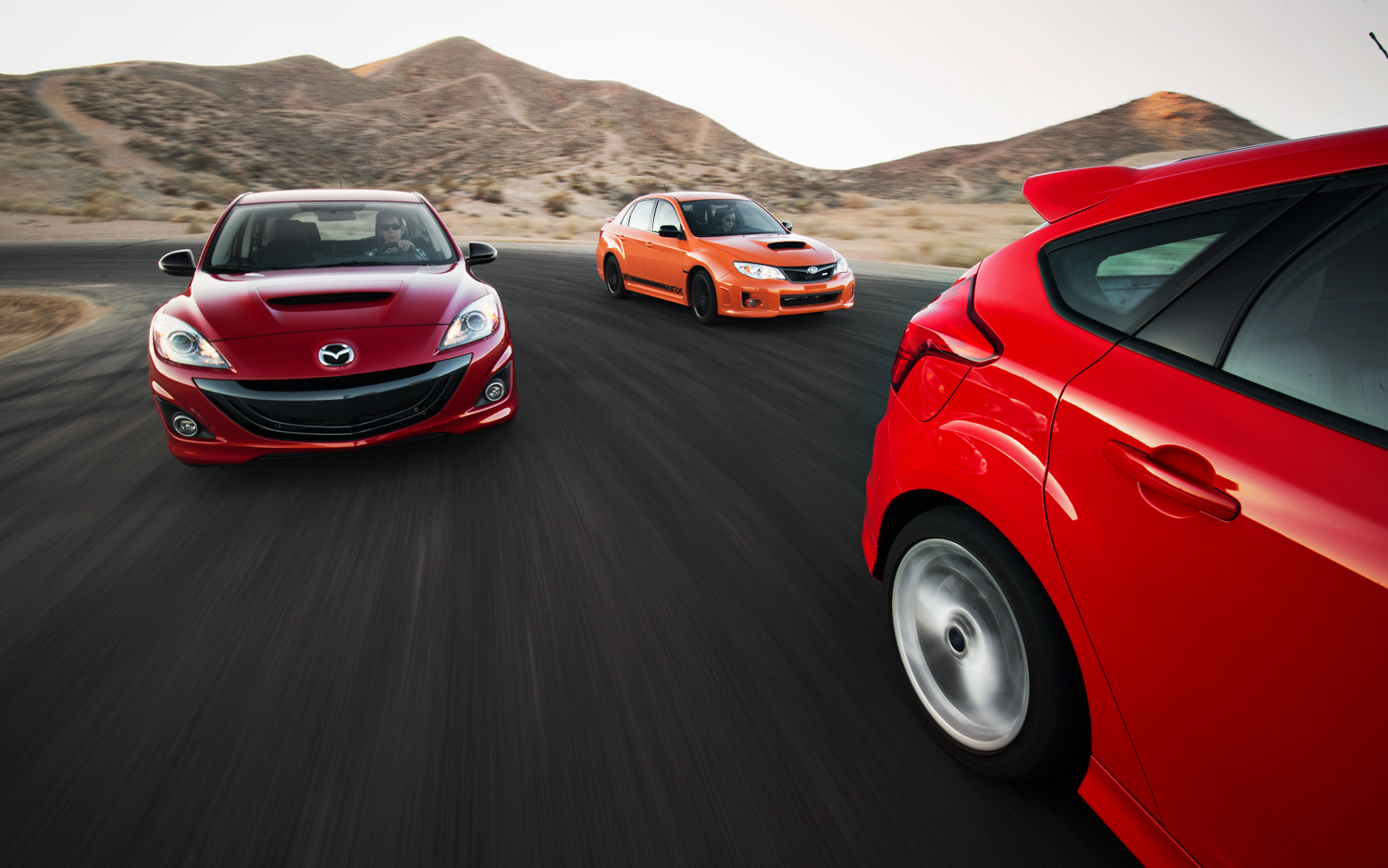 Insurance Costs Comparo: Focus ST vs. Mazdaspeed3 vs. WRX Special Edition