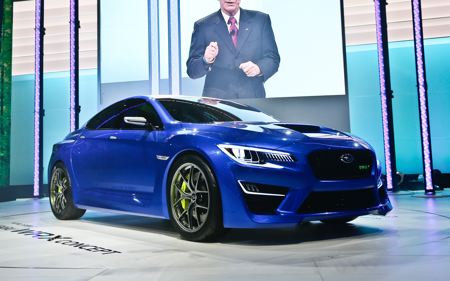 Subaru WRX Concept First Look