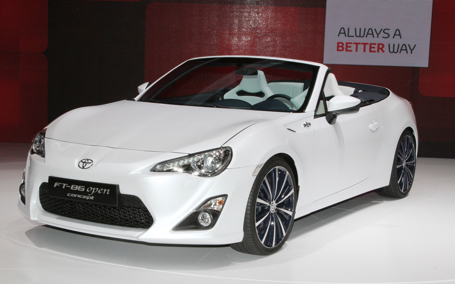 Toyota FT-86 Open Concept's Interior is Shockingly Good - 2013 ...