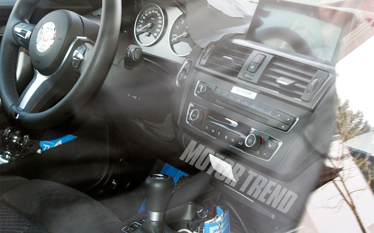 Spotted BMW 2 Series Coupe Interior Refreshed M5 Sedan