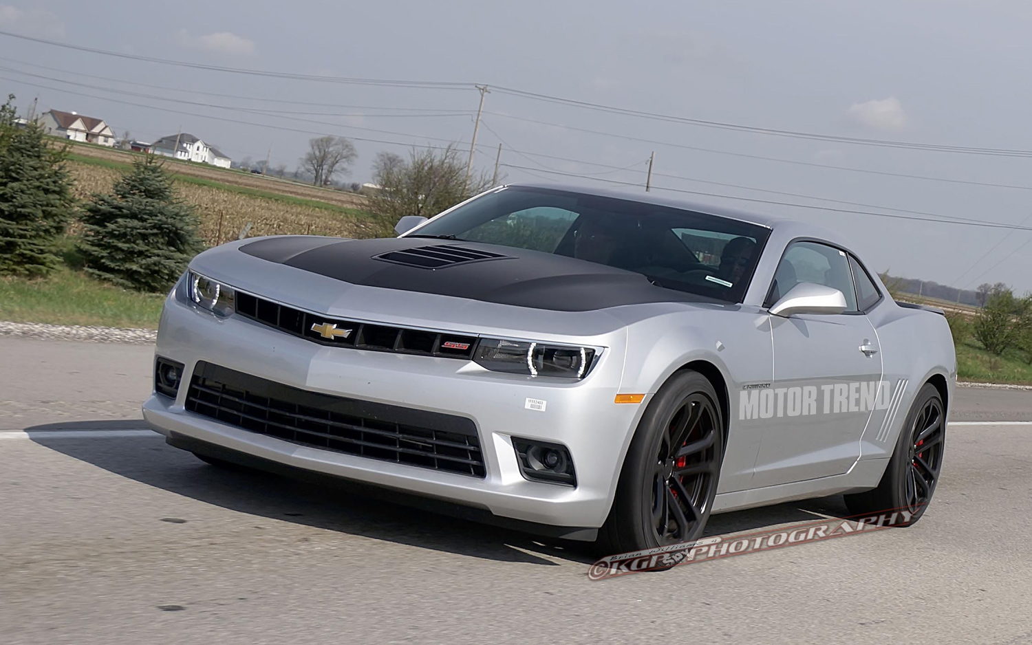 2014 Chevrolet Camaro Spied In ZL1, 1LE, RS Forms