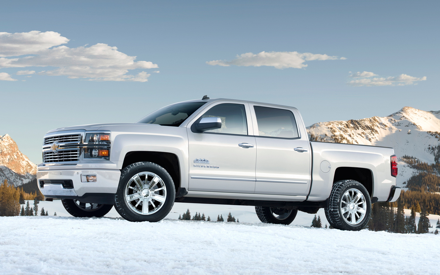 2014 Chevrolet Silverado High Country First Look Motor Trend