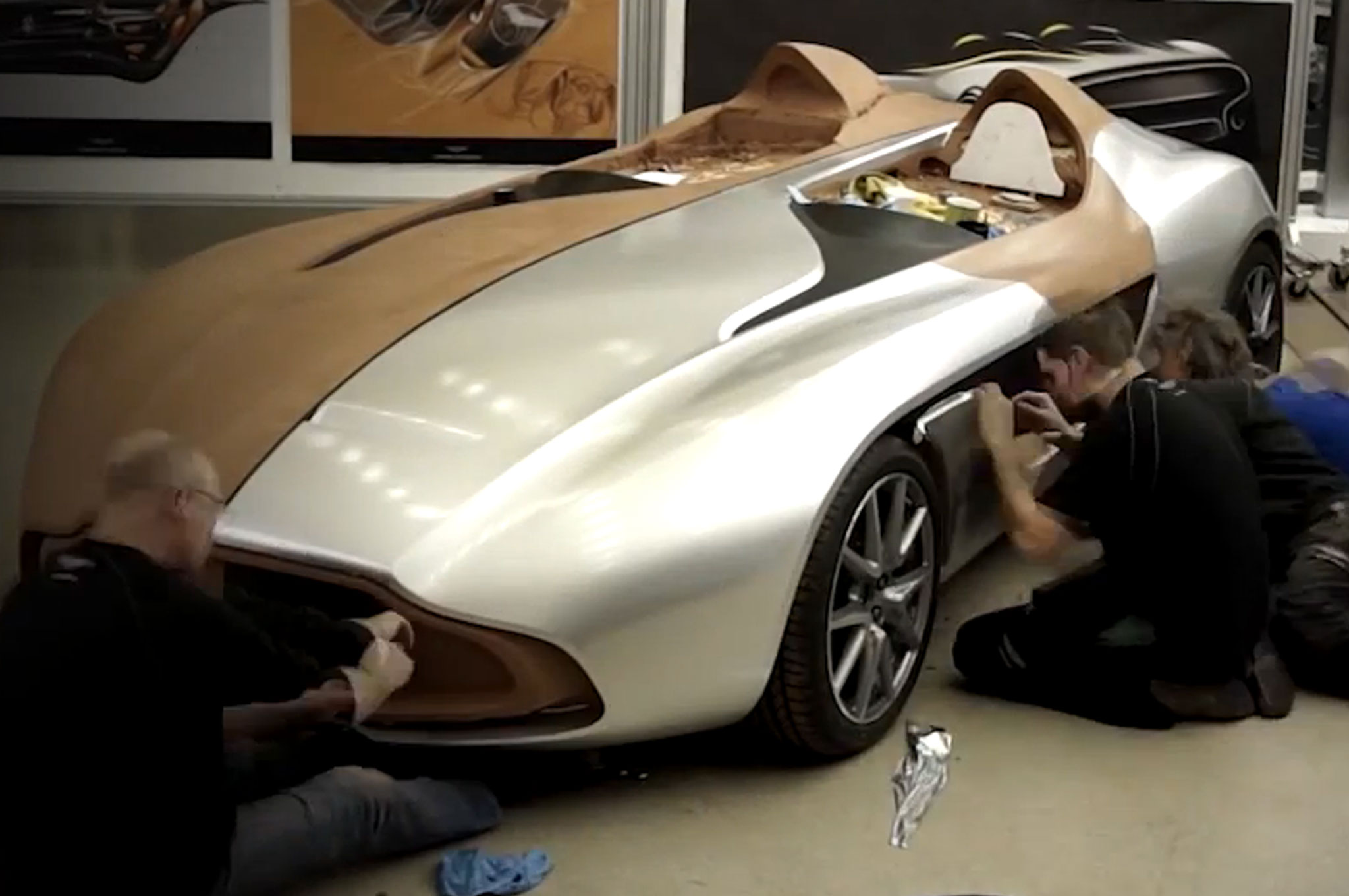 Video Aston Martin Cc100 Speedster From Sketch To Show Car
