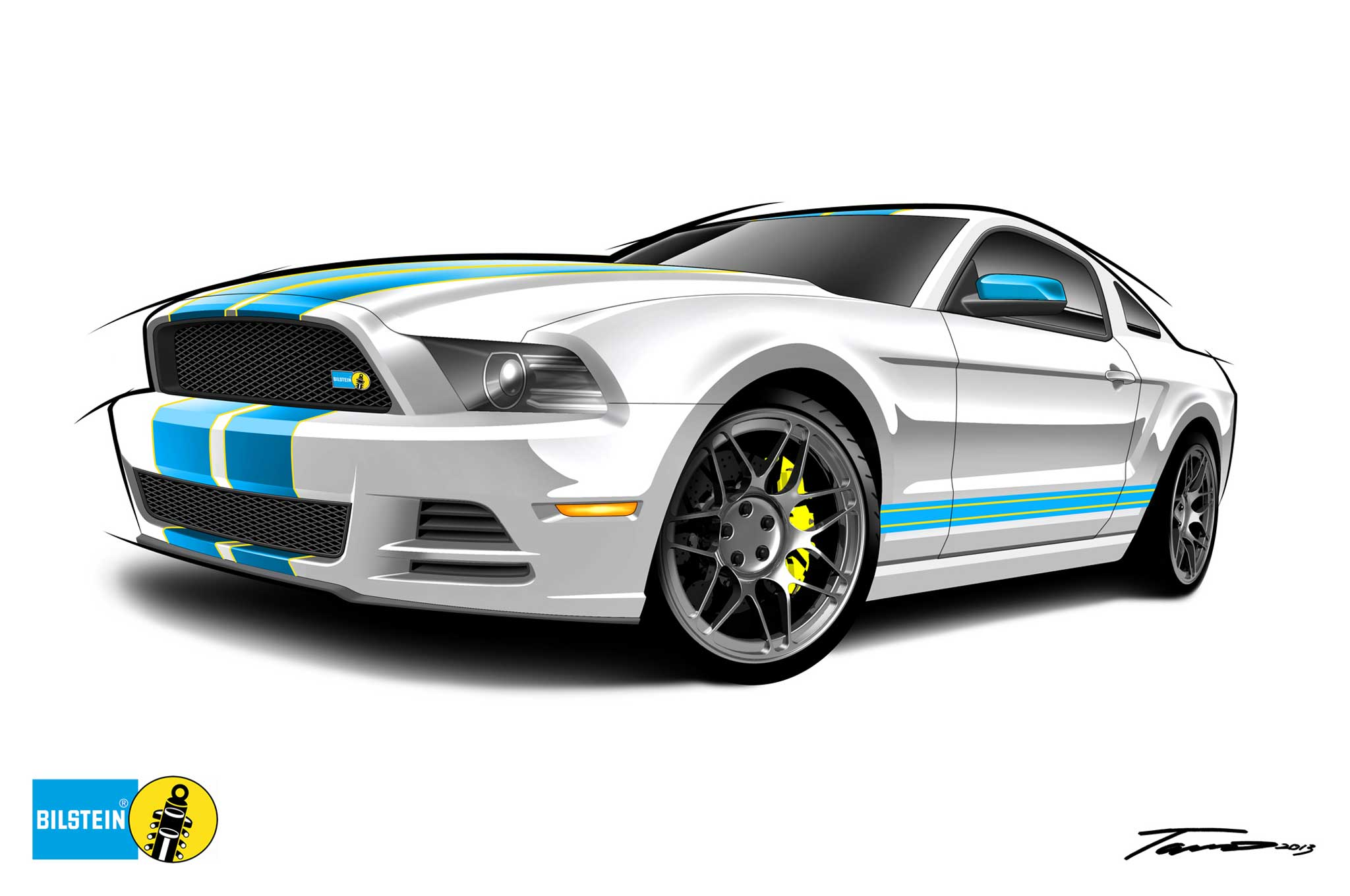 Win a Custom Mustang F 150 or 335i in Bilstein Contest Motor Trend