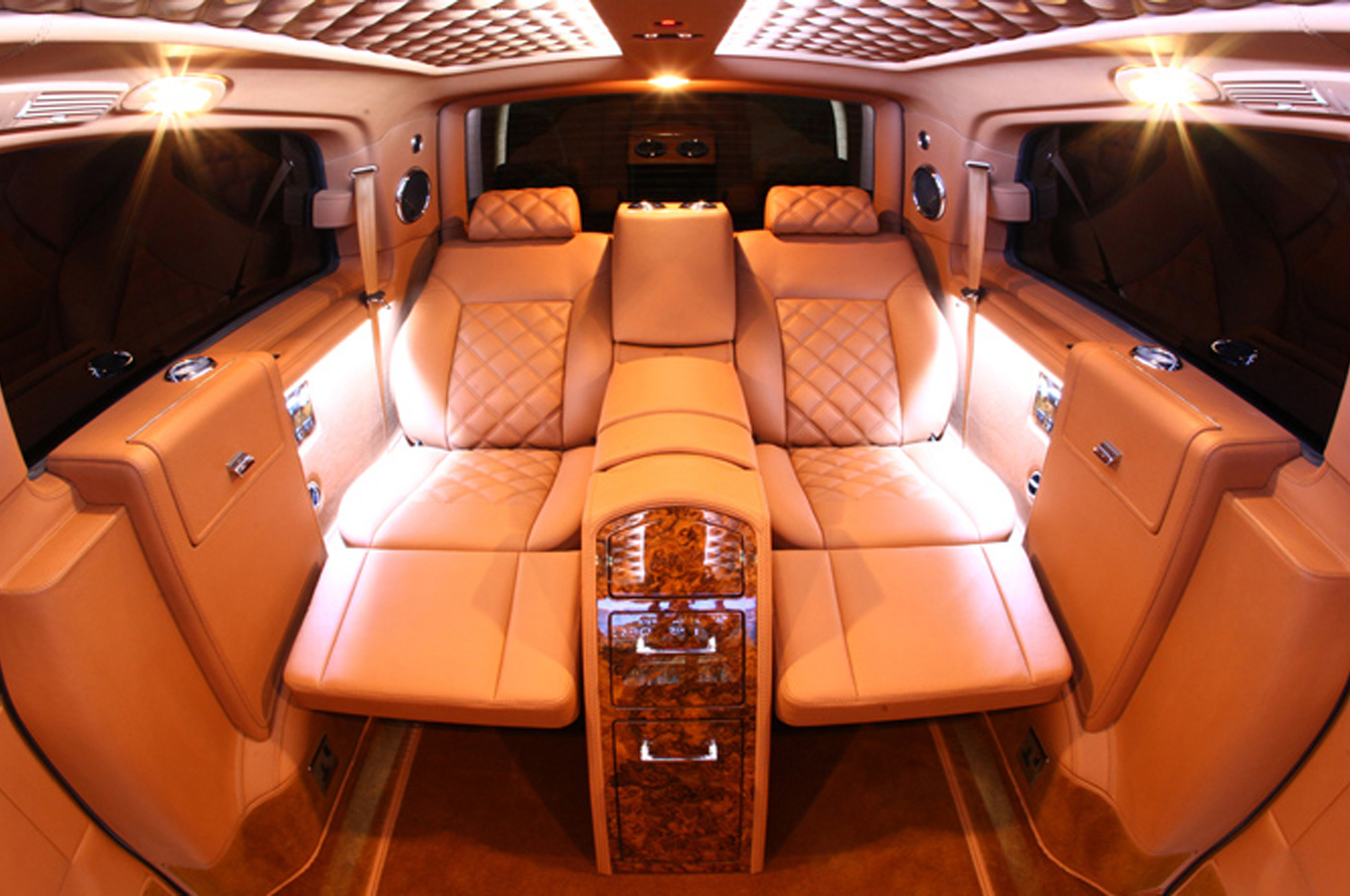 Mercedes Benz Viano Van Conversion Is The Lap Of Luxury