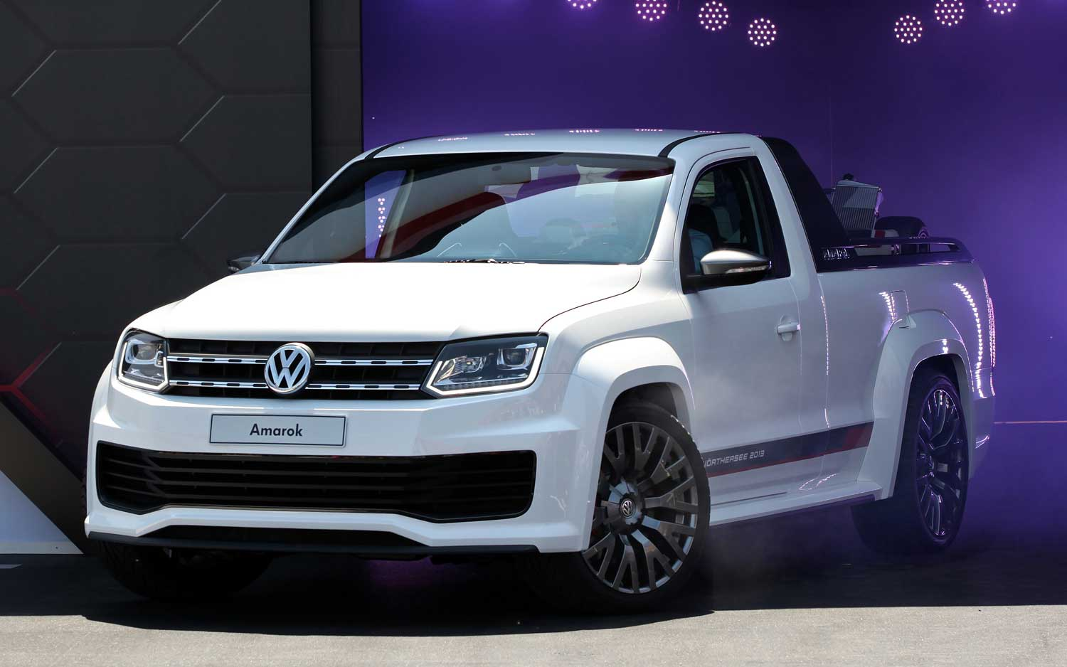 Track Ready Volkswagen Amarok Concept Debuts At Worthersee Motor Trend