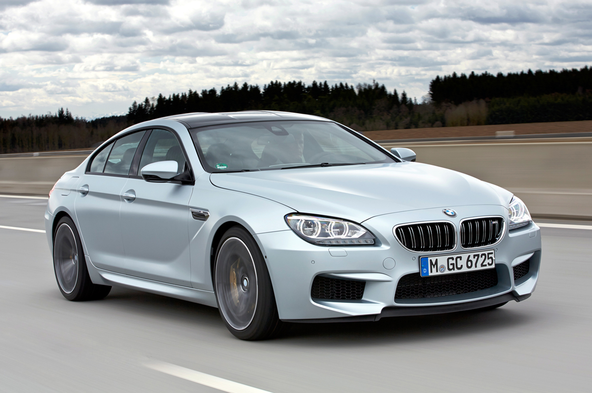 Heavy but Fast 2014 BMW M6 Gran Coupe Tested on New Ignition