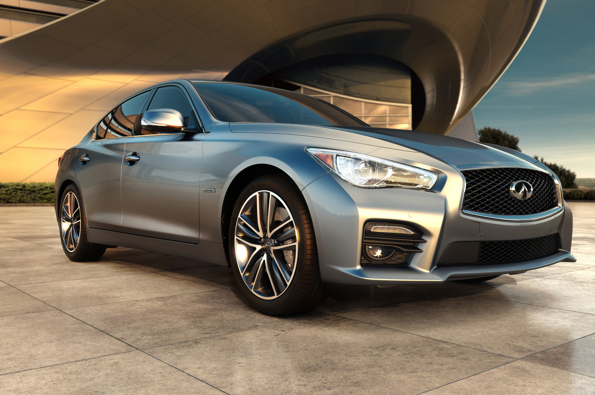 2014 Infiniti Q50 ficially Priced at $37 605 Hybrid at $44 855