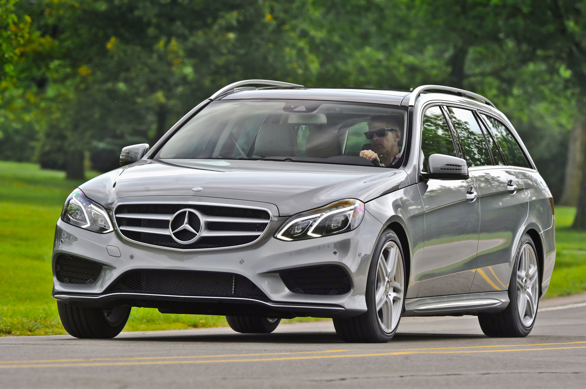 Elegant 2014 Mercedes Benz E350 4Matic Wagon First Drive