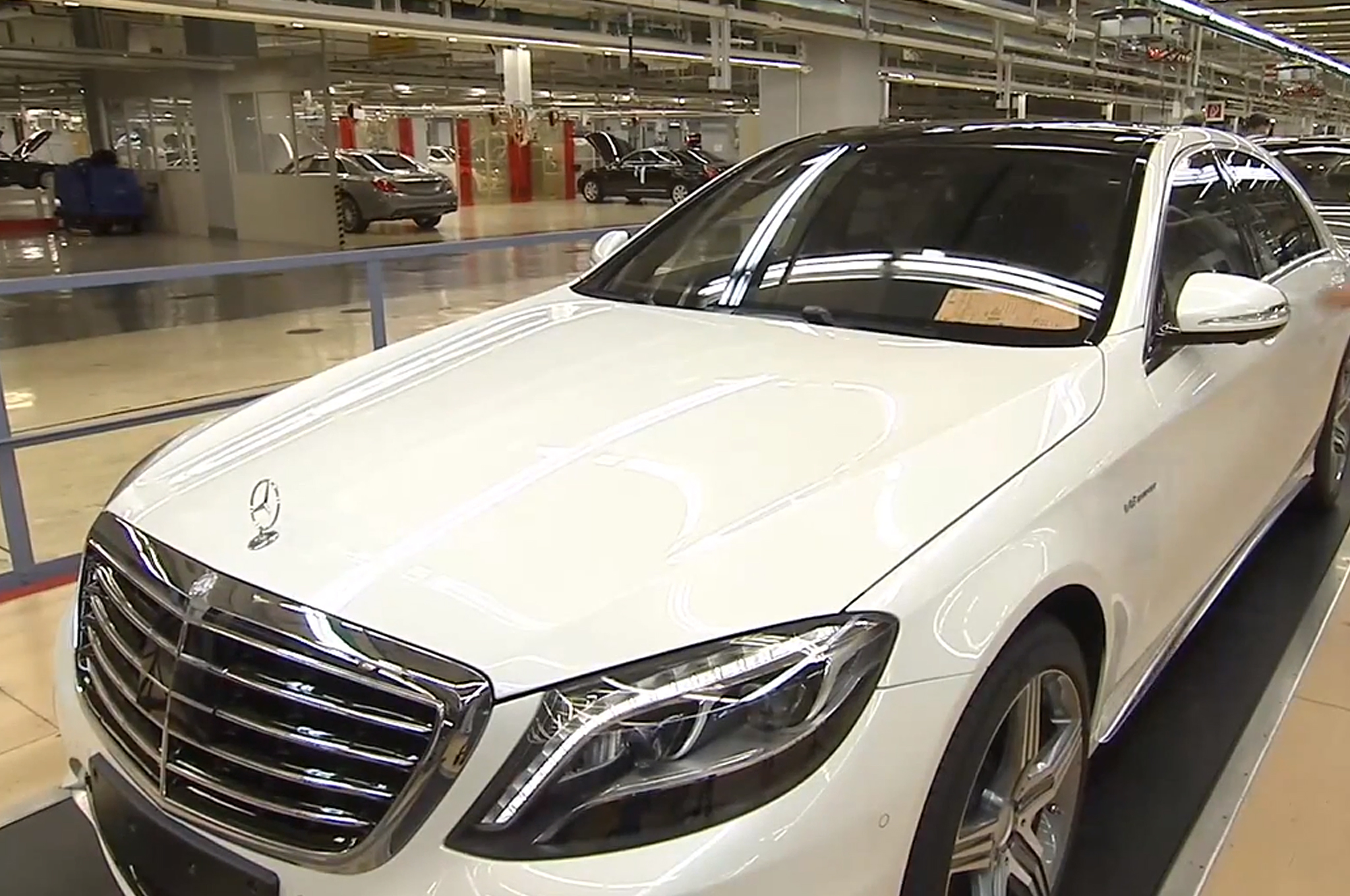 Is This The 2014 Mercedes Benz S63 AMG?