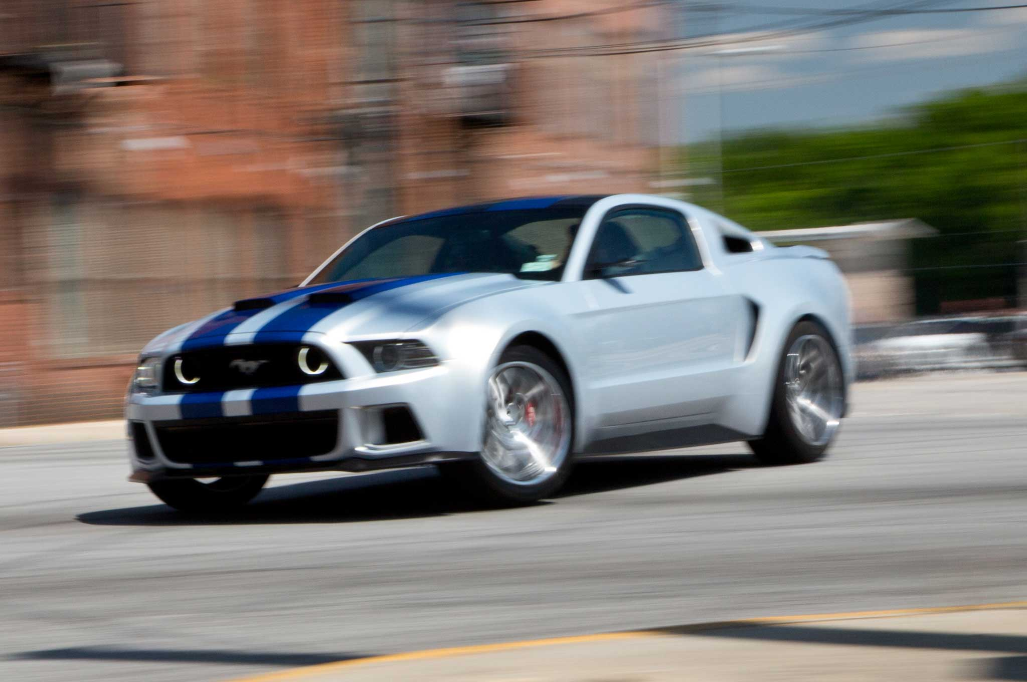 Ford Mustang Headlines Movie Adaptation Of Need For Speed