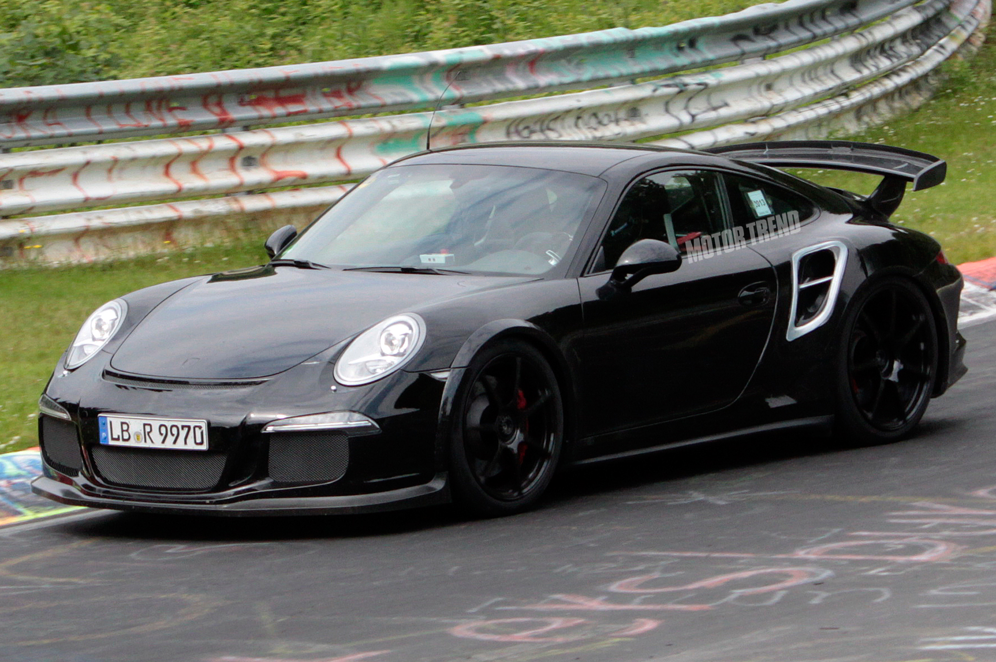 Porsche 911 GT2 Spied on 'Ring, Could be Fastest 911 Ever