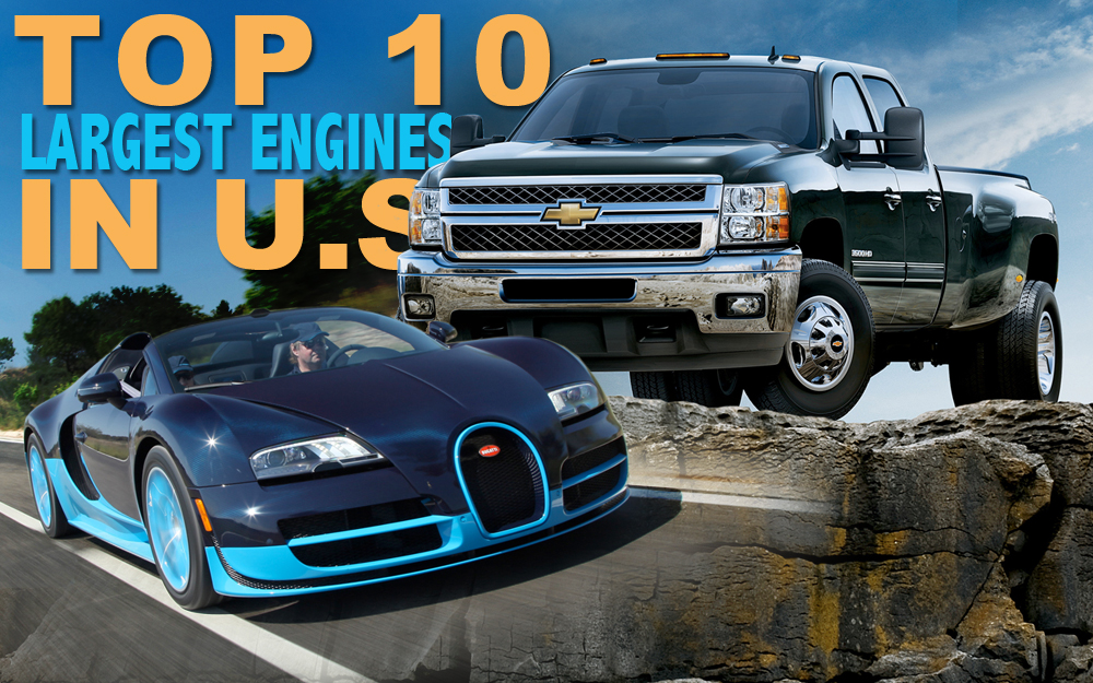Top 10 Largest Engines in U.S.-Market Cars